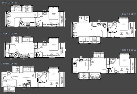 holiday rambler fifth wheel floor plans holiday rambler savoy lx fifth wheel floorplans large