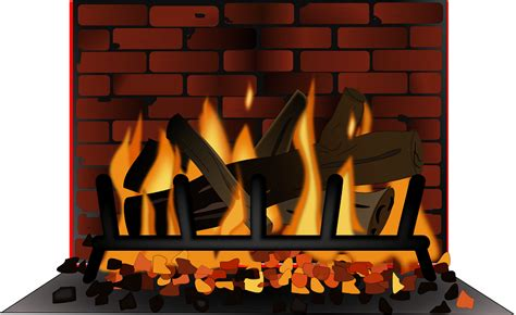Fireplace Clip by Fireplace Clipart Clipartsgram