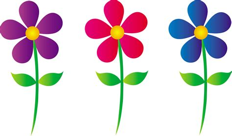 spring flower flower cartoon pictures beautiful flowers