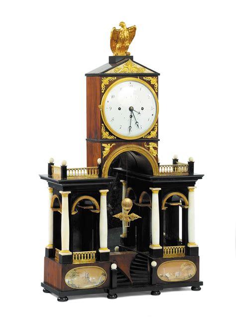 orologi da tavolo in legno orologio architettonico biedermeier da tavolo in legno con