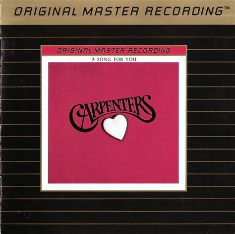 a song for you carpenters a song for you cd album remastered discogs