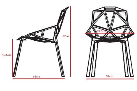konstantin grcic dining chair one chair design dining chair