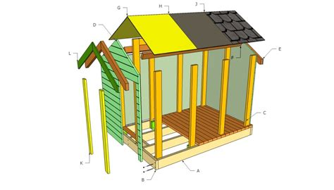 design house construction free 16 diy playhouses your kids will love to play in the