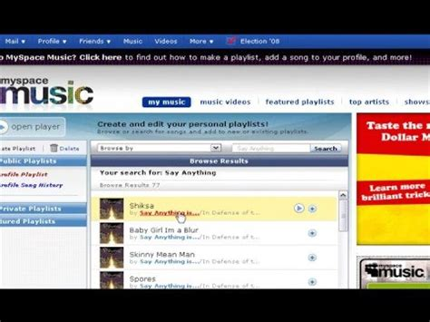 tutorial youtube music download tutorial how to download music from myspace youtube