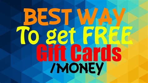 Fastest Way To Get Free Gift Cards - best eaisest way to get free gift cards money money sunday 1 youtube