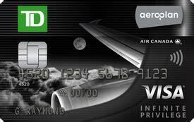 Td Visa Gift Card - aeroplan credit cards earn and redeem miles td canada trust