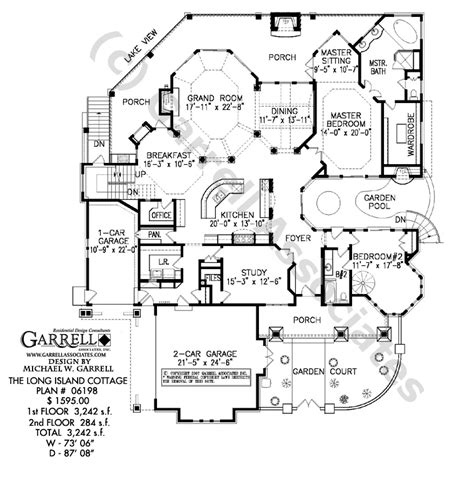 long house floor plans long island cottage house plan active adult house plans