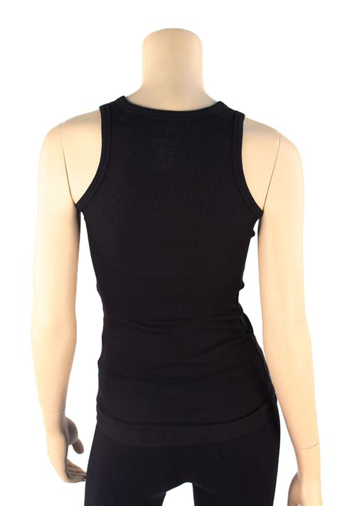 Green Blue Black Rib Basic Top 31867 womens tank top 100 cotton heavy weight ribbed a shirt