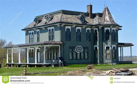jd house john deere house editorial stock image image 53409584