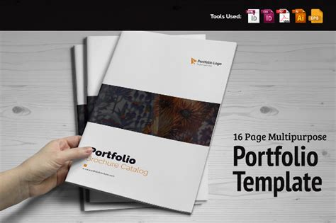 portfolio free template free pdf portfolio templates indesign software