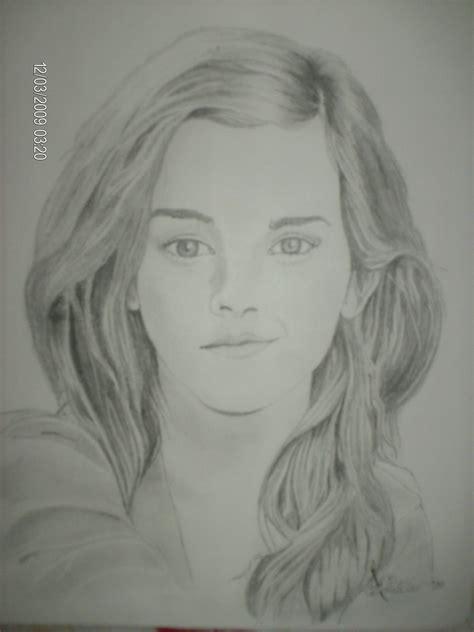 emma watson drawing drawing emma watson fan art 17644239 fanpop