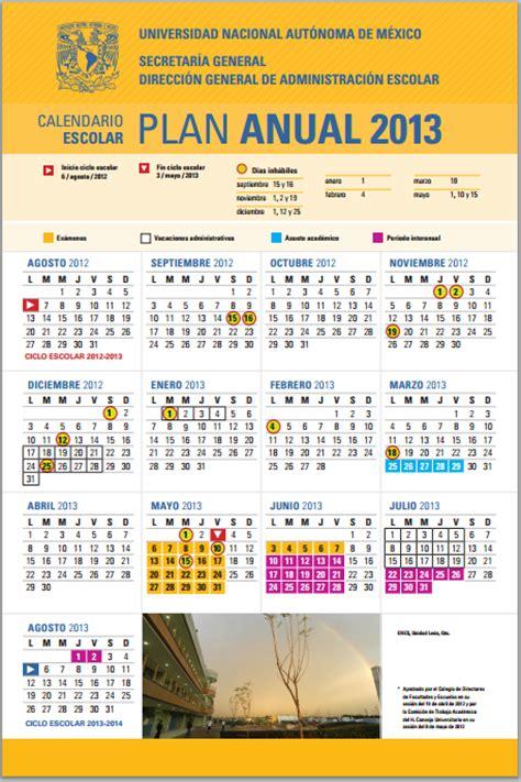 Calendario Escolar Unam Calendarios Escolares 2012 2013 Escolar Mx