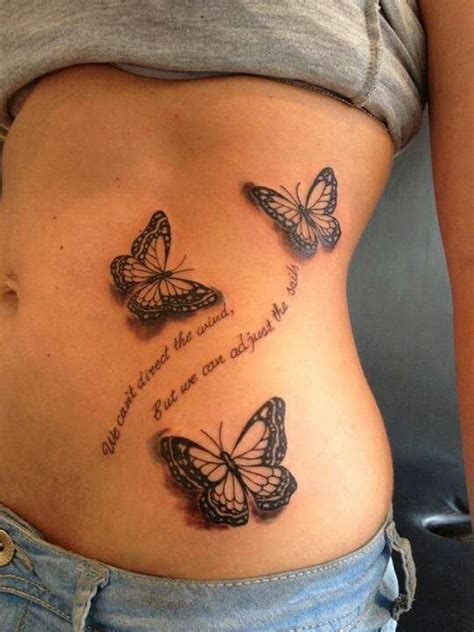 tattoo 3d quotes 25 best ideas about butterfly tattoos on pinterest
