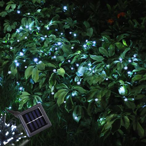 solar tree lights outdoor 60 led string solar light outdoor garden wedding