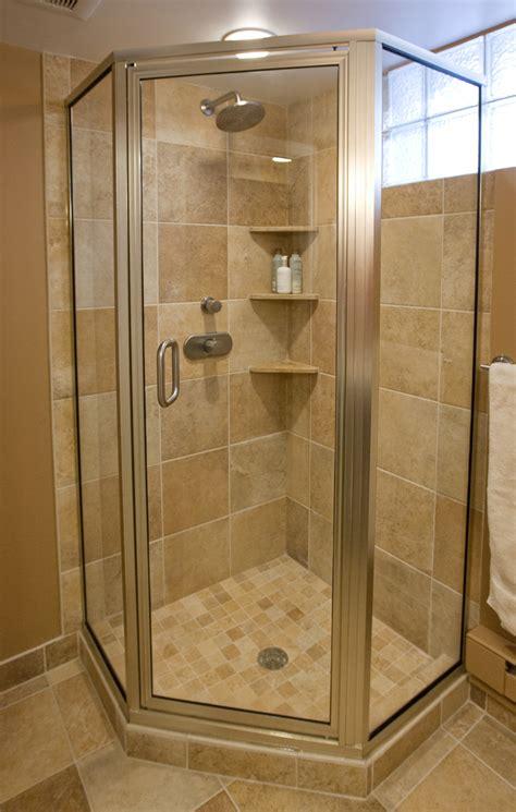 small bathroom ideas fine homebuilding tiled corner showers inviting home design