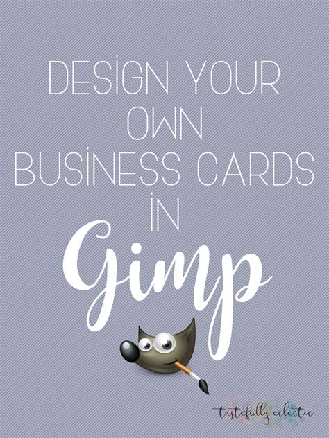 How To Design Your Own Cards
