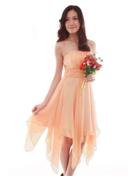 Dress Pixi pixie dress in tangerine the bmd shop your bridesmaid