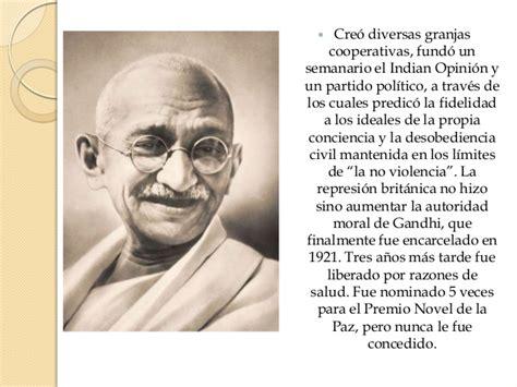 Imagenes De La Vida De Gandhi | biografia de gandhi