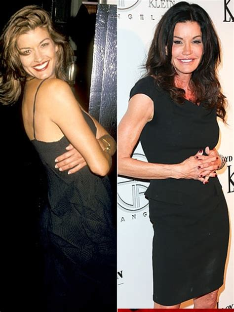 Janice Dickinson Got Booted Out Of Golden Globes Goodies Suite by Janice Dickinson Supermodels Then And Now Us Weekly