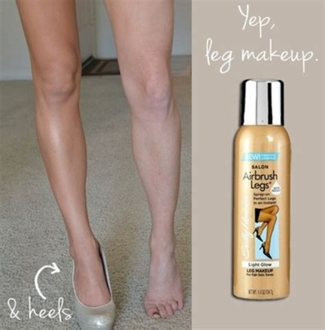 sally hansen spray airbrush legs brillance moyenne 130 ml