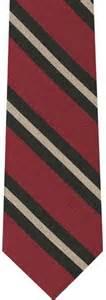 black light brown wool stripe tie 5