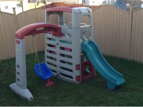 little tikes swing set and slide combo step 2 climber and swing combo play structure kanata ottawa