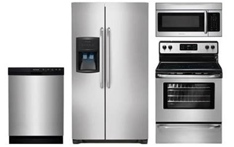 stainless steel kitchen appliance bundles frigidaire stainless steel kitchen appliance package abt com