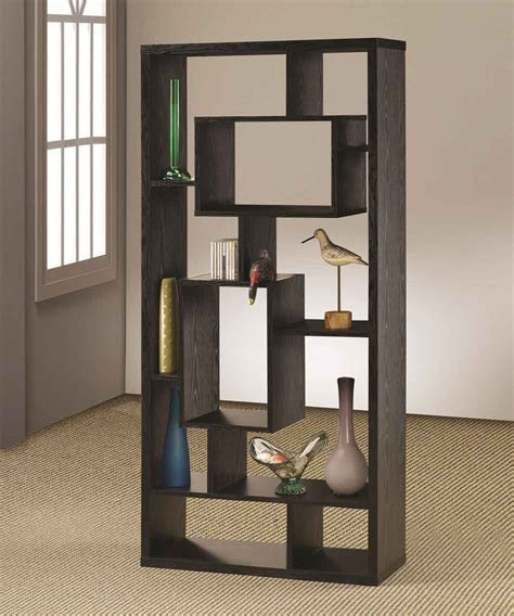 modern bookshelf los angeles bookcases for bookcases and room separator