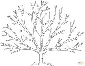 bare tree coloring page free printable coloring pages