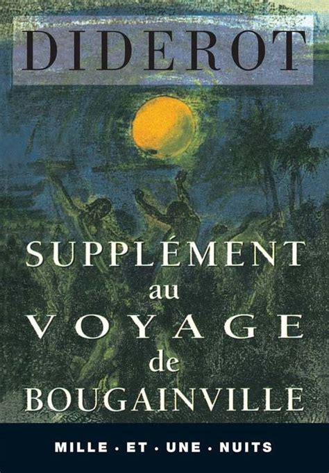 supplement au voyage de bougainville livre suppl 233 ment au voyage de bougainville denis diderot