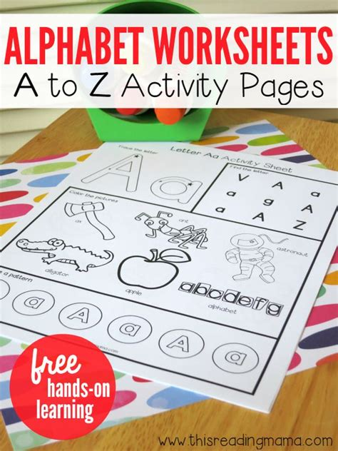 free printable letters on pinterest alphabet worksheets activity pages from a to z