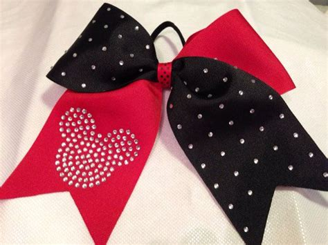 Kid Mickey Ribbon Pink rhinestone mickey mouse cheer bow 3 quot ribbon disney bow green blue gold black purple pink etc