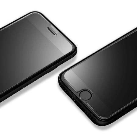 Spigen Iphone 7 Plus Glastr Slim Hd Screen Protector Tempered Glass spigen glas tr slim iphone 7 plus tempered glass screen protector mobilefun it