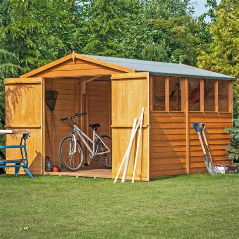 Argos Garden Sheds by Buy Homewood Wooden Overlap Shed 12 X 8ft At Argos Co Uk