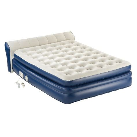 air bed target aerobed 174 premier air mattress double high queen target