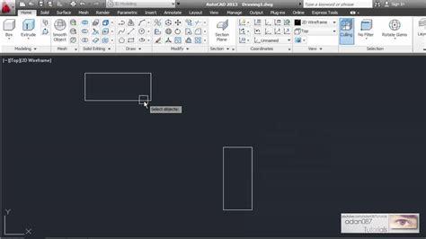adan087 tutorials autocad align objects 2d