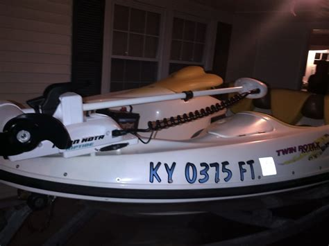 sea doo boat with trolling motor trolling motor for 2004 challenger seadoo forums