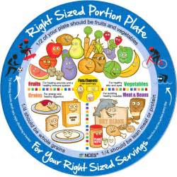 portion template right sized portion plate your wellness spot