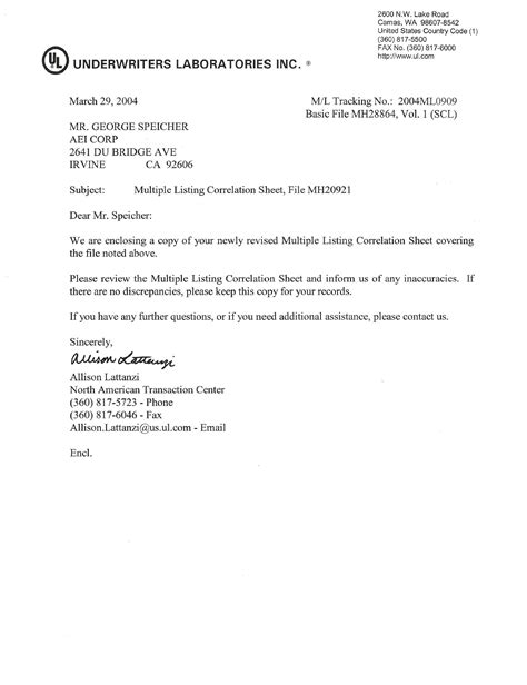 certification letter doc supporting documents