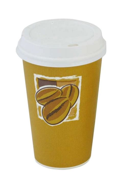 seda paper cups 16oz single wall beans design seda cup 1000 sedabean16