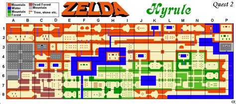 legend of zelda map quest 2 overworld the legend of zelda quest 2 maps zelda xtreme