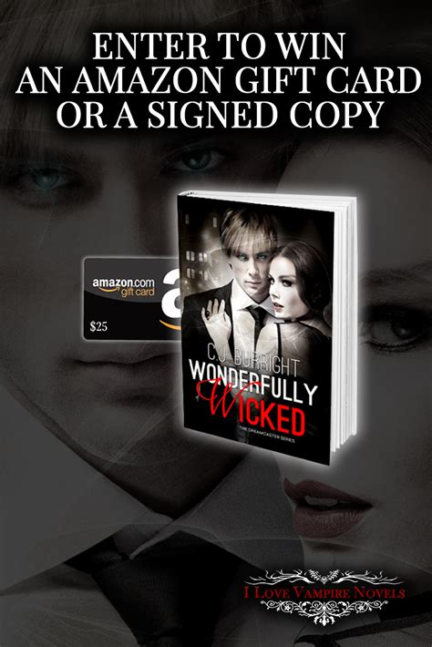 win signed copies or a win signed copies or a 25 gift card from author c