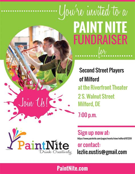 paint nite page milford second players