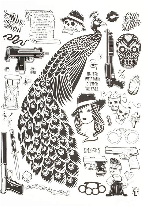 latin tattoo flash 154 best images about chicano art