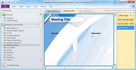 onenote 2010 templates microsoft onenote 2010 office s best kept productivity secret