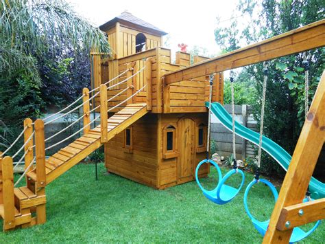 wooden castle playhouse search