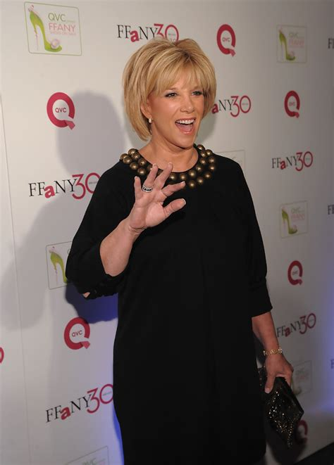 Qvc Presents Ffany Shoes On Sale A Benefit For Breast Cancer Research And Initiatives by Joan Photos Photos Qvc Presents Quot Ffany Shoes On