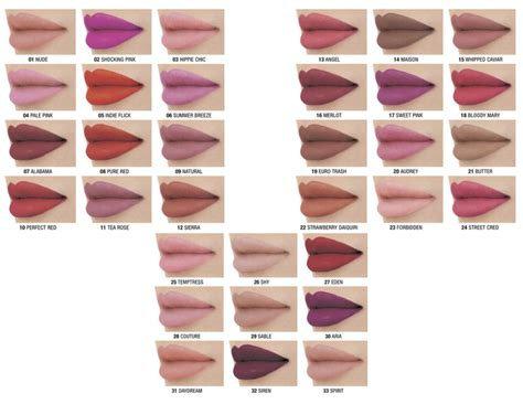 Nyx Matte Lipstick nyx matte lipstick swatches 6 each nyx matte lipsticks are highly pigmented richly formulated