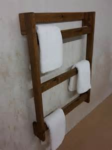 17 best ideas about wooden towel rail on