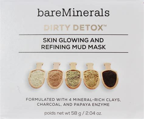Bareminerals Detox by Bareminerals Detox Skin Glowing Refining Mud